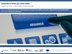 GENOMICS WEEK @ CIBIO-InBIO